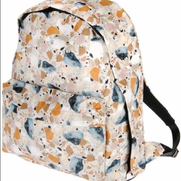 Acne Handbags - ACNE STUDIOS Printed Nylon Backpack